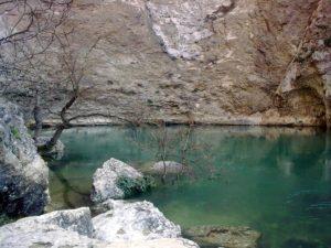 Fontaine-de-Vaucluse - Quelle der Sorgue